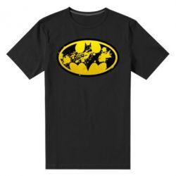 Мужская стрейчевая футболка Batman Graffiti - FatLine