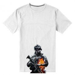 Мужская стрейчевая футболка Battlefield Warrior - FatLine