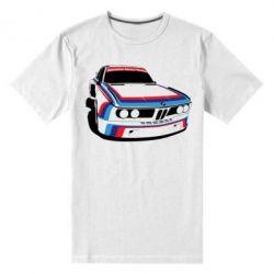 Мужская стрейчевая футболка Bavarian Motor Works - FatLine