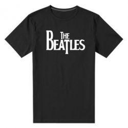 Мужская стрейчевая футболка Beatles - FatLine