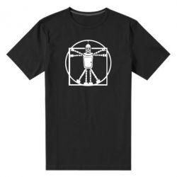 Мужская стрейчевая футболка Bender Da Vinchi - FatLine