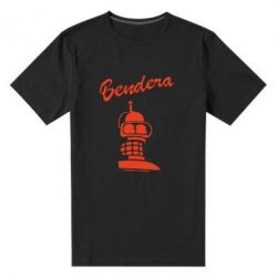 Мужская стрейчевая футболка Bendera