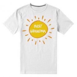 Чоловіча стрейчева футболка Best Grandma