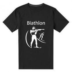 Мужская стрейчевая футболка Biathlon - FatLine
