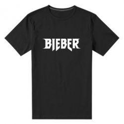 Мужская стрейчевая футболка Bieber