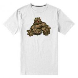 Мужская стрейчевая футболка Big Bear - FatLine