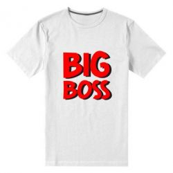 Мужская стрейчевая футболка Big Boss - FatLine