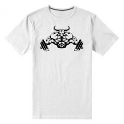 Мужская стрейчевая футболка Big Bull - FatLine