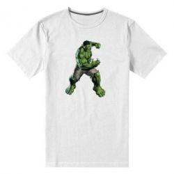 Мужская стрейчевая футболка Big Hulk - FatLine