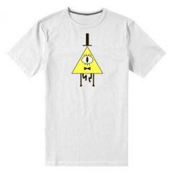 Мужская стрейчевая футболка Билл Шифр - FatLine