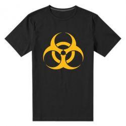 Мужская стрейчевая футболка biohazard - FatLine