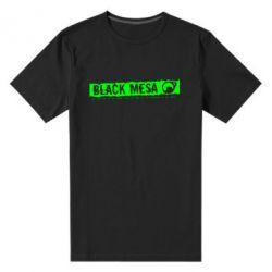 Мужская стрейчевая футболка Black Mesa - FatLine