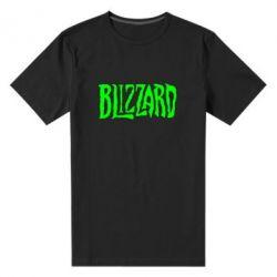 Мужская стрейчевая футболка Blizzard Logo - FatLine