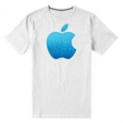 Мужская стрейчевая футболка Blue Apple - FatLine