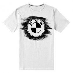 Купить Мужская стрейчевая футболка БМВ арт, BMW art, FatLine