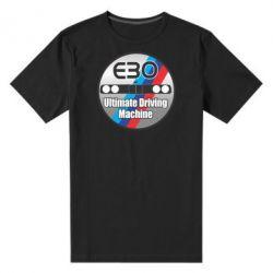 Мужская стрейчевая футболка BMW E30 Ultimate Driving Machine - FatLine