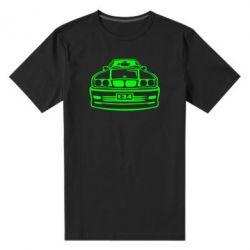 Мужская стрейчевая футболка BMW E34 - FatLine