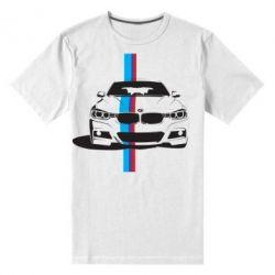 Мужская стрейчевая футболка BMW F30 - FatLine