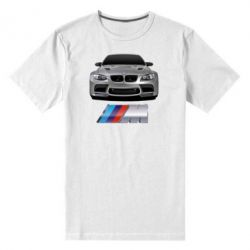 Мужская стрейчевая футболка BMW M Power Car - FatLine