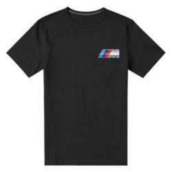 Мужская стрейчевая футболка BMW M POWER Small - FatLine