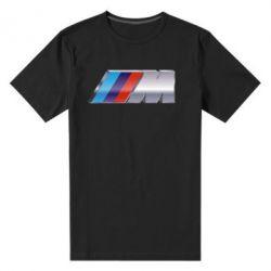 Мужская стрейчевая футболка BMW M POWER - FatLine