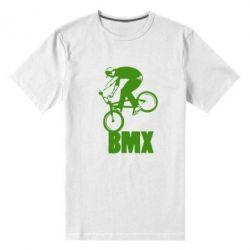 Мужская стрейчевая футболка Bmx Boy - FatLine