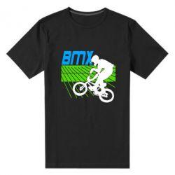 Мужская стрейчевая футболка BMX Sport - FatLine