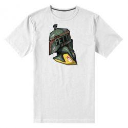 Мужская стрейчевая футболка Boba Fett - FatLine