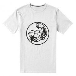 Чоловіча стрейчова футболка Бодібілдинг - FatLine
