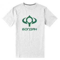 Мужская стрейчевая футболка Богдан - FatLine