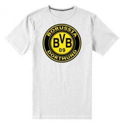 Мужская стрейчевая футболка Borussia Dortmund - FatLine
