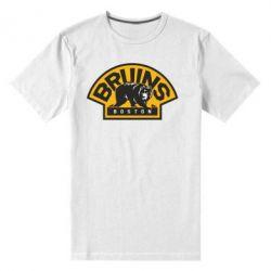 Мужская стрейчевая футболка Boston Bruins - FatLine
