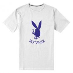 Мужская стрейчевая футболка Ботаник - FatLine