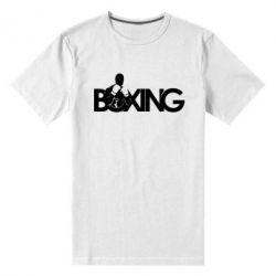 Мужская стрейчевая футболка Boxing Art - FatLine