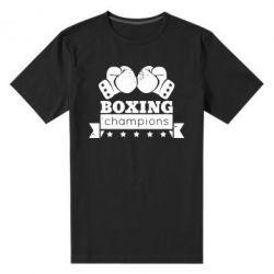 Мужская стрейчевая футболка Boxing Champions - FatLine