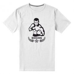 Мужская стрейчевая футболка Boxing Star - FatLine