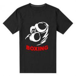 Мужская стрейчевая футболка Boxing - FatLine
