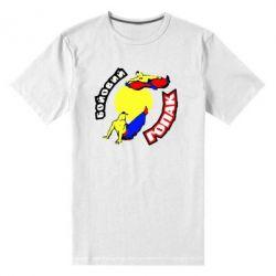 Мужская стрейчевая футболка Бойовий гопак