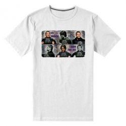 Мужская стрейчевая футболка Братья Винчестеры в полиции - FatLine