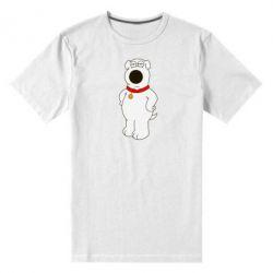 Мужская стрейчевая футболка Брайан Гриффин - FatLine