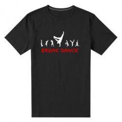 Мужская стрейчевая футболка Break Dance - FatLine