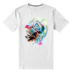 Мужская стрейчевая футболка Брэйк Арт
