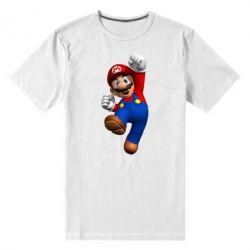 Мужская стрейчевая футболка Brother Mario - FatLine