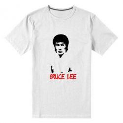 Мужская стрейчевая футболка Bruce Lee - FatLine