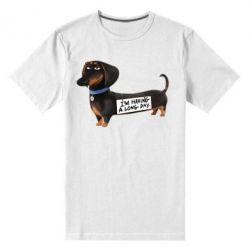 Мужская стрейчевая футболка Buddy