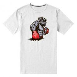 Мужская стрейчевая футболка Bulldog MMA - FatLine