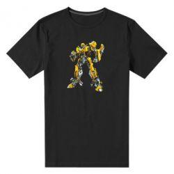Мужская стрейчевая футболка Bumblebee - FatLine