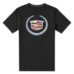Мужская стрейчевая футболка Cadillac - FatLine