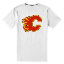 Мужская стрейчевая футболка Calgary Flames - FatLine