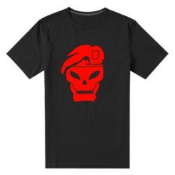 Мужская стрейчевая футболка Call of Duty Black Ops logo